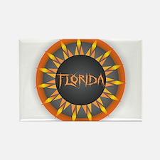 Florida Hot Sun Magnets
