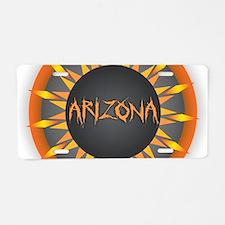 Arizona Hot Sun Aluminum License Plate