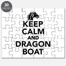 Keep calm and Dragon boat Puzzle