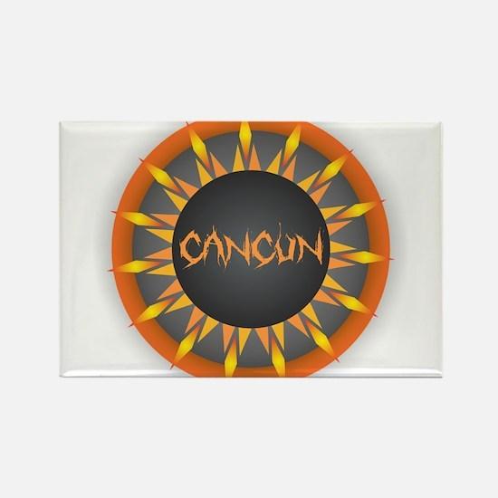 Cancun Hot Sun Magnets