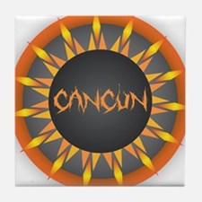 Cancun Hot Sun Tile Coaster