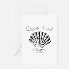 Cape Cod Est.1620 Greeting Card