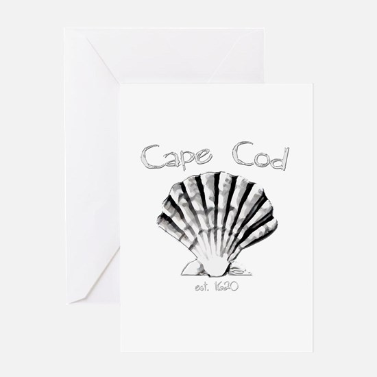 Cape Cod Est.1620 Greeting Card