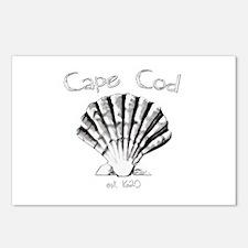 Cape Cod Est.1620 Postcards (Package of 8)