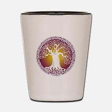 Celtic Tree III Shot Glass