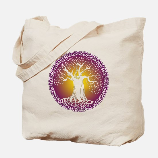 Celtic Tree III Tote Bag