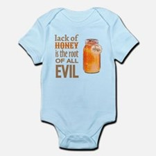 Lack of Honey is the Root of All Evil Body Suit