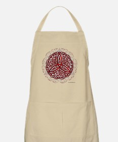Red Celtic Trinity Knot Apron