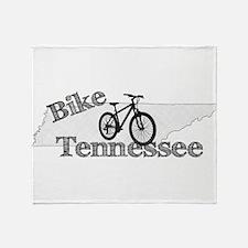 Bike Tennessee Throw Blanket