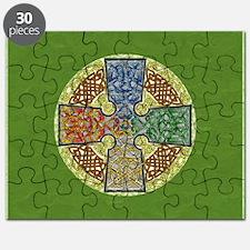 Celtic Cross Elemental Textured Puzzle