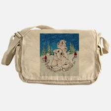 Sealyham Terrier Christmas Messenger Bag