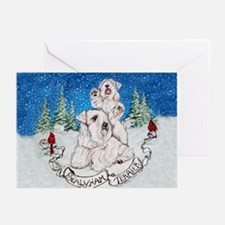 Sealyham Terrier Holiday Greeting Cards