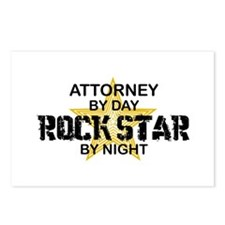 Attorney Rock Star Postcards (Package of 8)
