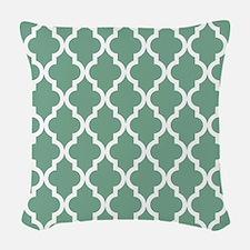 Moroccan Quatrefoil Pattern: S Woven Throw Pillow