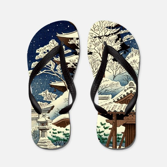 Unique Artists Flip Flops