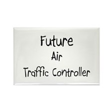 Future Air Traffic Controller Rectangle Magnet