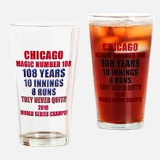 Cute Giants world series Drinking Glass