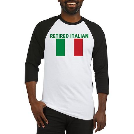 RETIRED ITALIAN Baseball Jersey