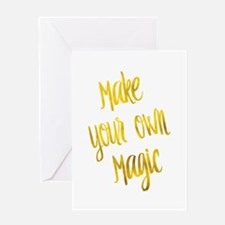 Make Your Own Magic Gold Faux Foil Greeting Cards