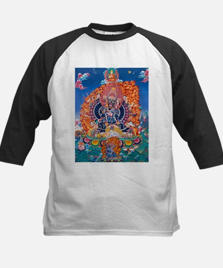 Tangka Yamantaka Death God Tattoo Baseball Jersey