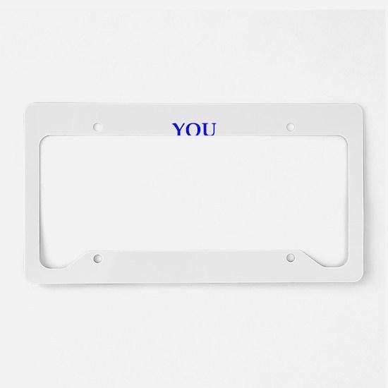 amuse License Plate Holder