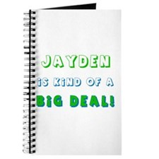 Jayden Is Kind of a Big Deal Journal