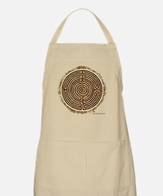 Brown Bayeux Cathedral Labyrinth Apron