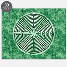 Green Chartres Cathedral Labyrinth Puzzle
