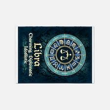 Libra Astrology Zodiac Sign 5'x7'Area Rug