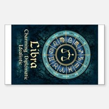Libra Astrology Zodiac Sign Decal