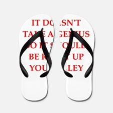 genius Flip Flops