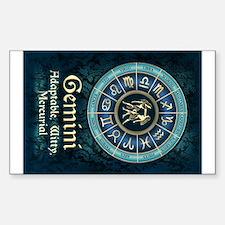 Gemini Astrology Zodiac Sign Decal