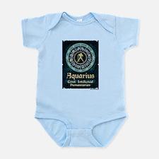 Aquarius Astrology Zodiac Sign Body Suit