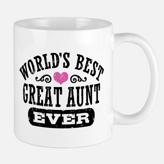 World's Best Great Aunt Ever Mug