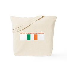 PROUD TO BE AN IRISH GRANDPA Tote Bag