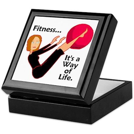 Fitness Keepsake Box