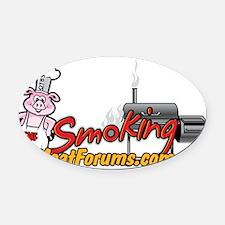 SMF Logo Oval Car Magnet