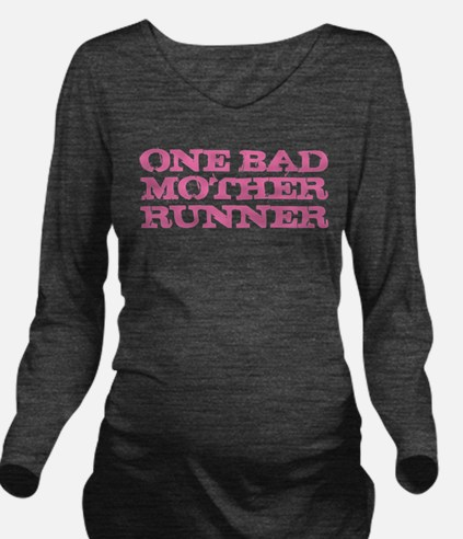 Unique Funny running Long Sleeve Maternity T-Shirt