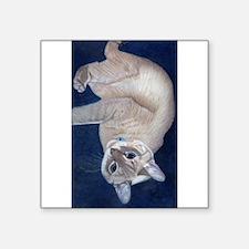 Cuddly Siamese Kitty Cat Sticker