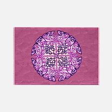 Purple Celtic Dragonflies Magnets