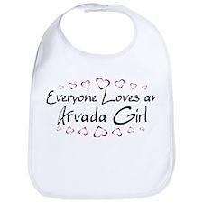 Arvada Girl Bib