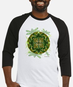 Celtic Dragonflies Green Baseball Jersey