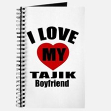 I Love My Tajikistan Boyfriend Journal
