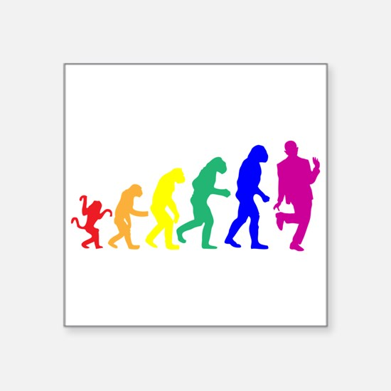 Gay Evolution Sticker