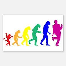 Gay Evolution Decal