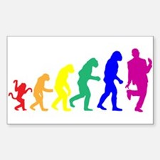 Gay Evolution Decal
