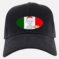 italian christmas Baseball Hat