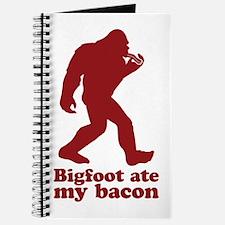 Bigfoot (Sasquatch) ate my bacon! Journal
