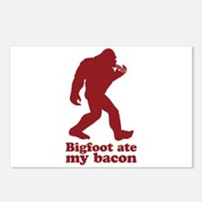 Bigfoot (Sasquatch) ate m Postcards (Package of 8)