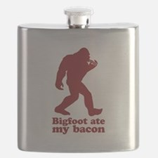 Bigfoot (Sasquatch) ate my bacon! Flask